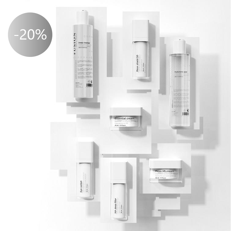 Visiems Fusion Mesotherapy produktams -20%